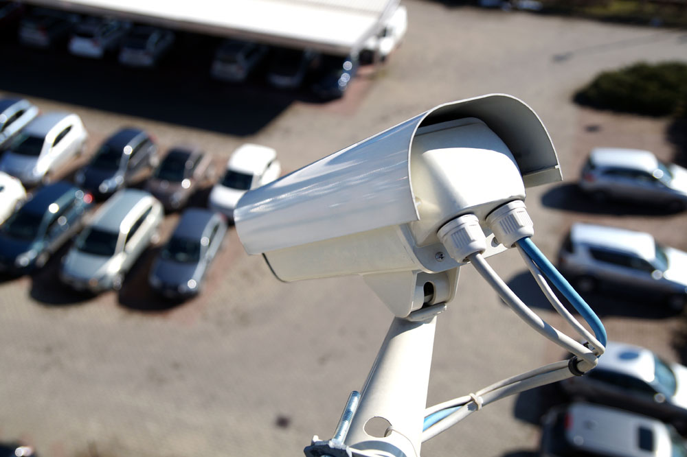 CCTV Lens Surveillance