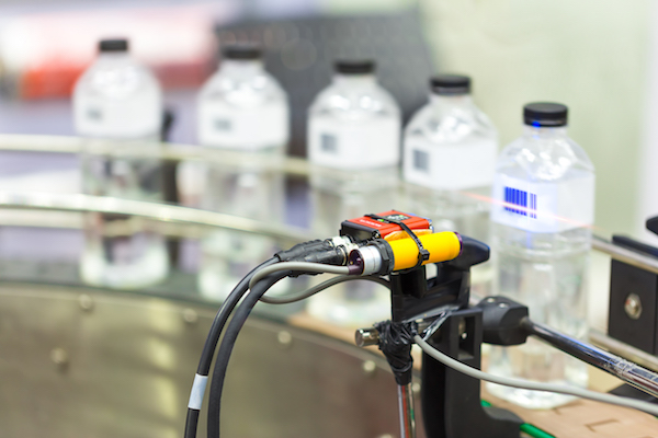 Machine Vision Water Bottle Inspection