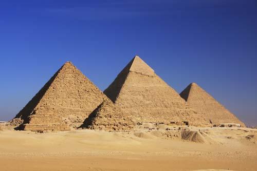 Las Grandes Pirámides de Guiza, El Cairo