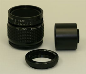 What's New: 50mm F/3.5 UV Quartz Lens